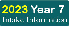 Year 7 intake information