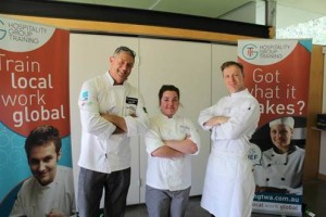 Tayla with Chefs